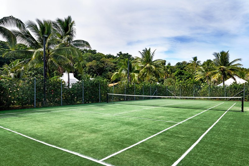 Musket Cove Island Resort-Tennis Court<br/>Image from Leonardo