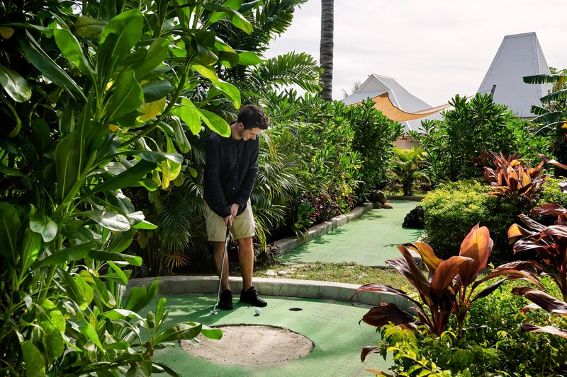 Musket Cove Island Resort-Mini Golf Course<br/>Image from Leonardo