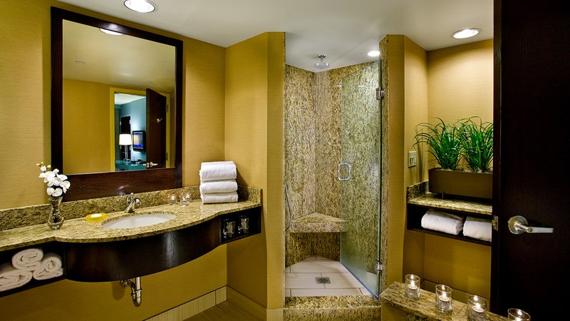 Crowne Plaza Lombard Downers Grove-Suite Bathroom<br/>Image from Leonardo