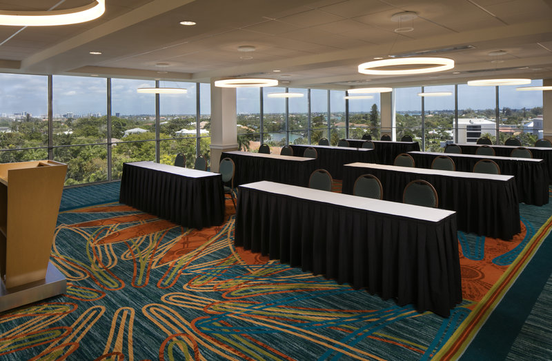 Lido Beach Holiday Inn-Classroom Meeting Setup<br/>Image from Leonardo