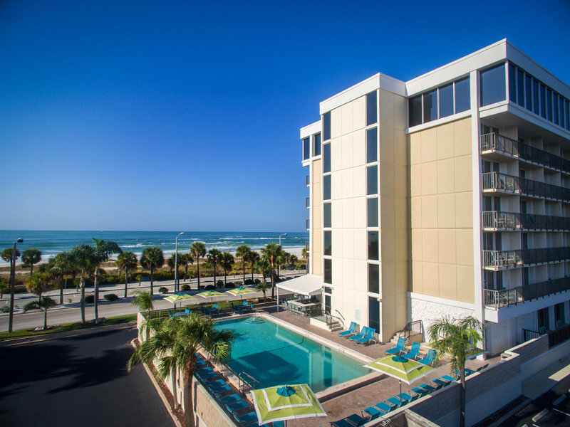 Lido Beach Holiday Inn-Enjoy the Gulf breeze while taking a dip in the pool<br/>Image from Leonardo