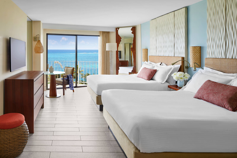 The Coral At Atlantis - Deluxe Queen/Queen Guest Room <br/>Image from Leonardo