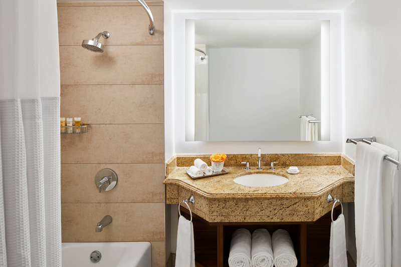 The Coral At Atlantis - Deluxe Guest Bathroom <br/>Image from Leonardo