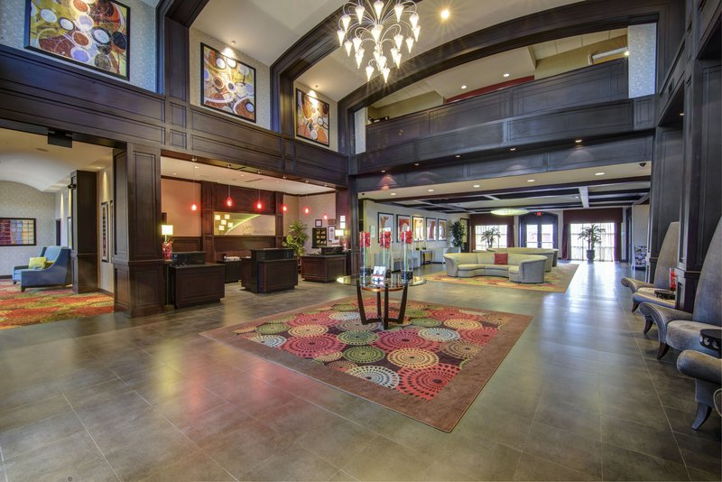 Holiday Inn Arlington NE-Rangers Ballpark-Overview of our hotel lobby area<br/>Image from Leonardo