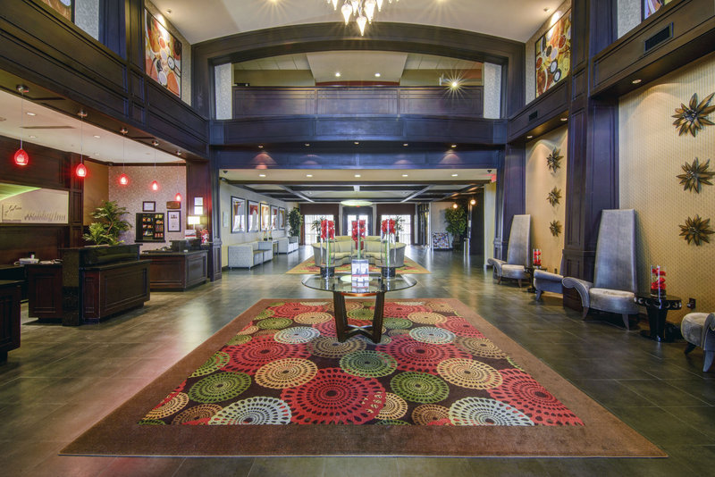 Holiday Inn Arlington NE-Rangers Ballpark-Hotel Lobby, Reception Desk and seating area<br/>Image from Leonardo