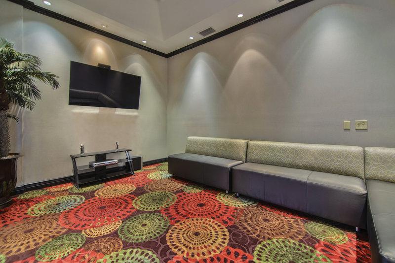 Holiday Inn Arlington NE-Rangers Ballpark-Media Room with television<br/>Image from Leonardo