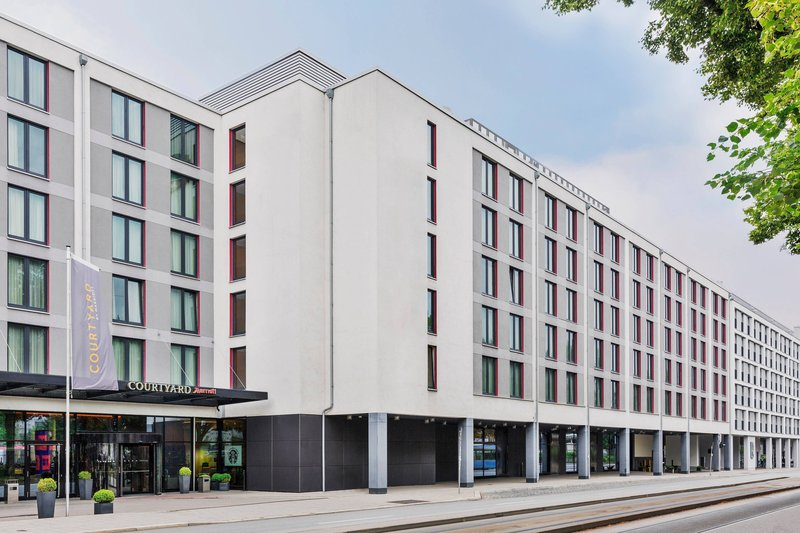 Courtyard Munich City East-Exterior<br/>Image from Leonardo