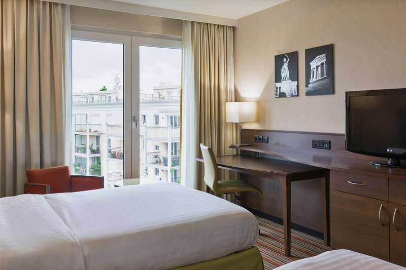Courtyard Munich City East-Superior Twin/Twin Room - Courtyard View<br/>Image from Leonardo