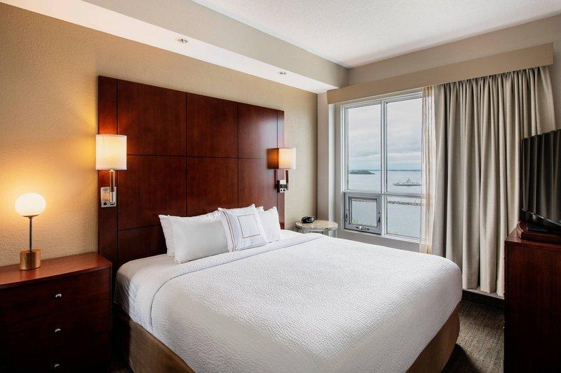 Residence Inn Kingston Water's Edge-Two-Bedroom Suite - Bedroom<br/>Image from Leonardo