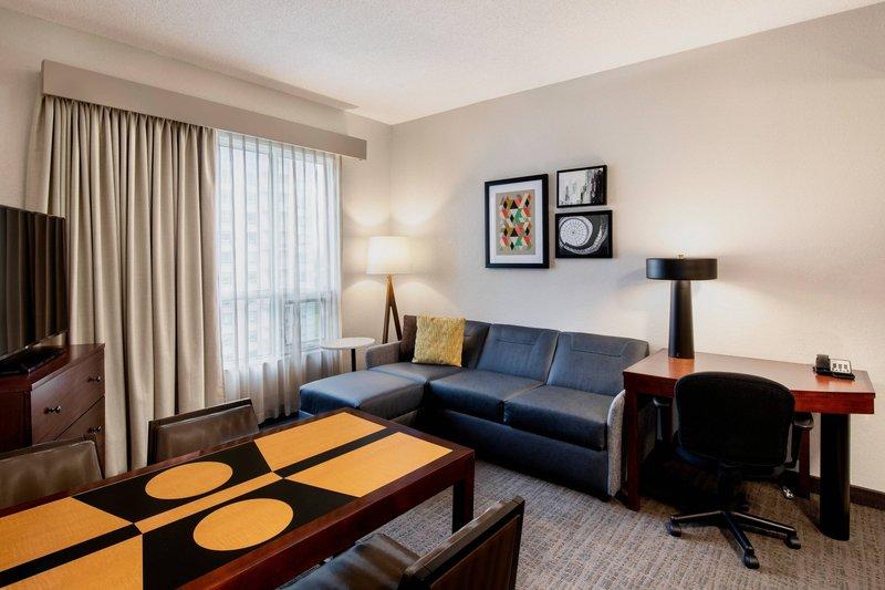 Residence Inn Kingston Water's Edge-Two-Bedroom Suite - Living Area<br/>Image from Leonardo