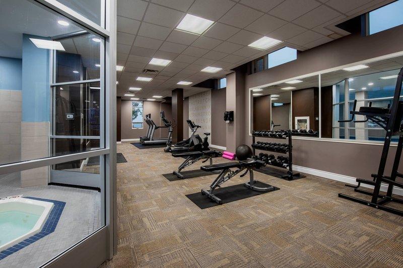Residence Inn Kingston Water's Edge-Fitness Centre<br/>Image from Leonardo
