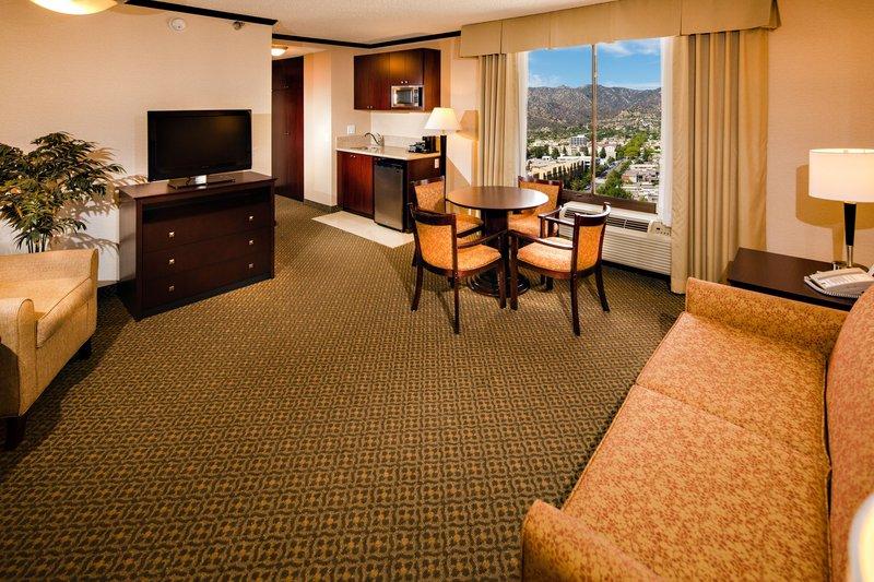 Holiday Inn Burbank - Media Center-Suite Living Room<br/>Image from Leonardo