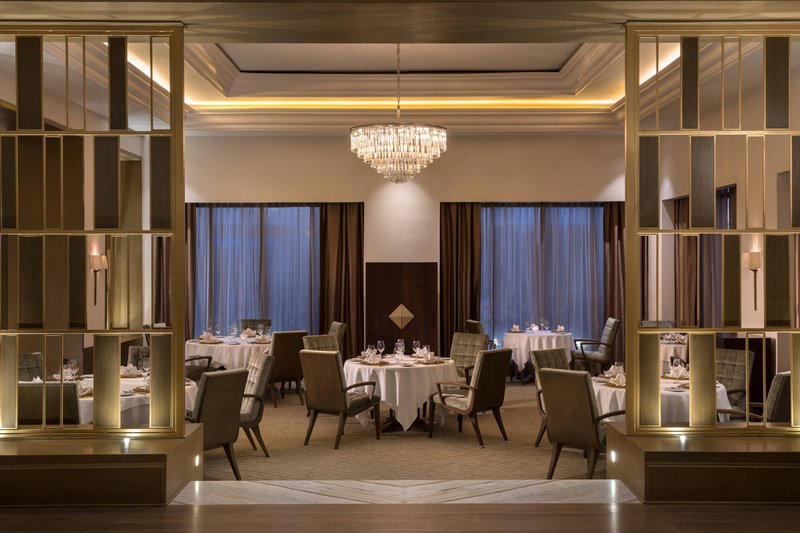 The Ritz-Carlton Cancun - The Club Grill Dining Area <br/>Image from Leonardo