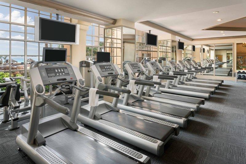 The Ritz-Carlton Cancun - Fitness Center <br/>Image from Leonardo