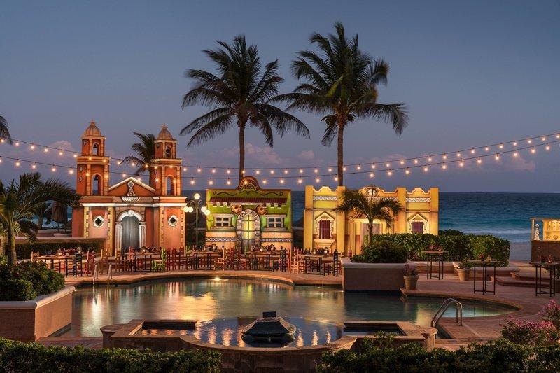 The Ritz-Carlton Cancun - Event Setup - Mexican Village <br/>Image from Leonardo