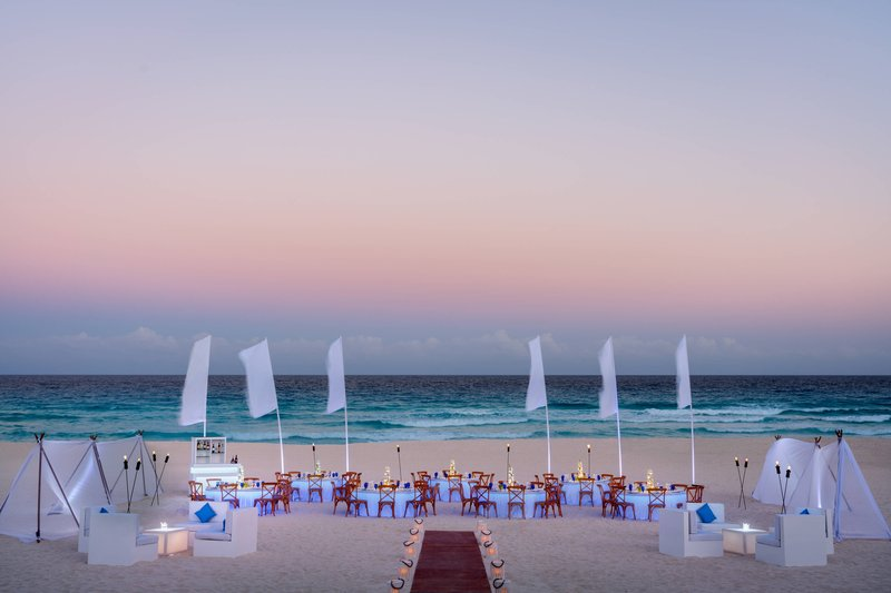The Ritz-Carlton Cancun - Event Setup - Sea Serenity <br/>Image from Leonardo