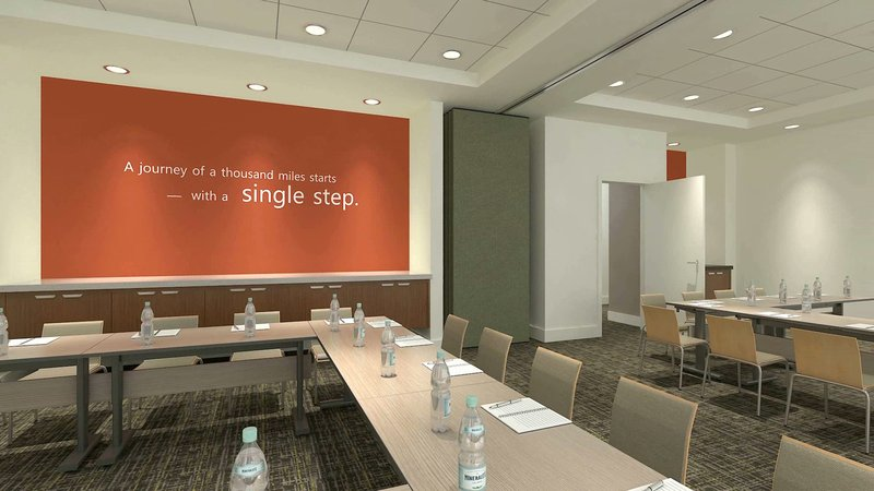 Holiday Inn Express & Suites Ann Arbor-Flexible meeting space <br/>Image from Leonardo