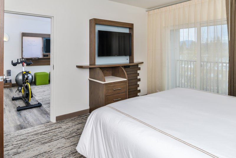 Holiday Inn Express & Suites Ann Arbor-Suite with cycle bike <br/>Image from Leonardo