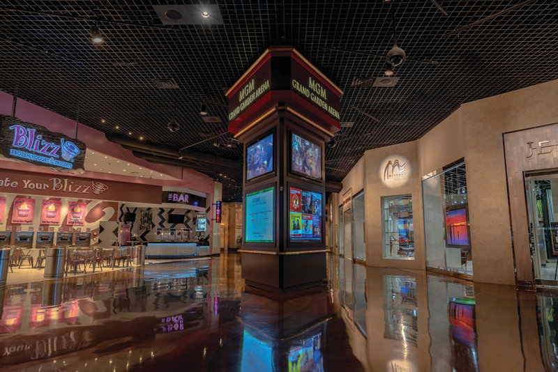 MGM Grand Hotel & Casino-Retail<br/>Image from Leonardo
