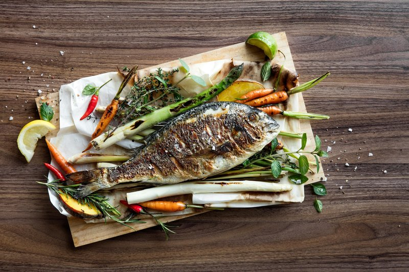 Le Meridien Stuttgart-Restaurant Kleinschmeckerei - Fish<br/>Image from Leonardo