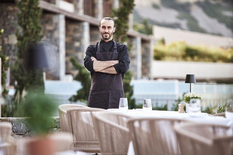 Blue Palace; a Luxury Collection Hotel-Yiannis Kalivretakis - Executive Sous Chef<br/>Image from Leonardo