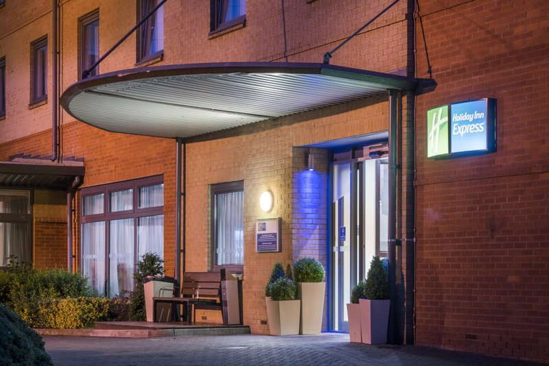 Holiday Inn Express Leicester City-Entrance<br/>Image from Leonardo
