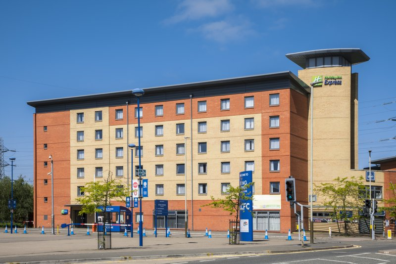 Holiday Inn Express Leicester City-Hotel Exterior<br/>Image from Leonardo