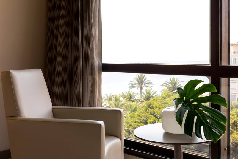 AC Hotel Nice-Twin/Twin Deluxe Partial Sea View Guest Room<br/>Image from Leonardo