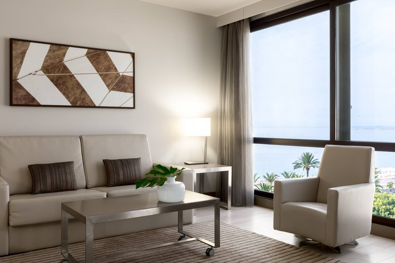 AC Hotel Nice-Partial Sea View Suite - Living Room<br/>Image from Leonardo