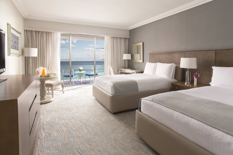 The Ritz-Carlton Cancun - Double/Double Guest Room - Ocean View <br/>Image from Leonardo