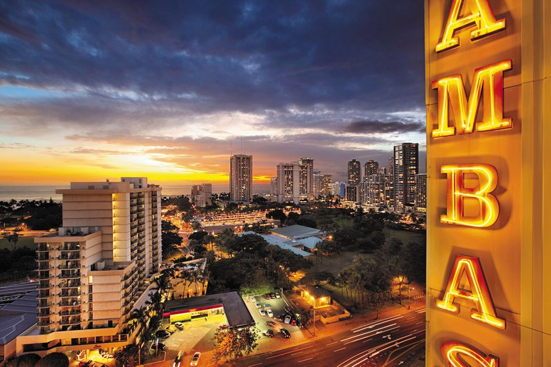 Ambassador Hotel Waikiki - AMBExterior <br/>Image from Leonardo