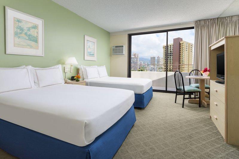 Ambassador Hotel Waikiki-AMBGuestroom DD<br/>Image from Leonardo