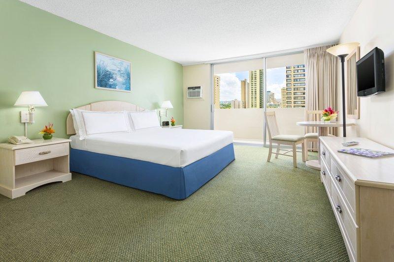 Ambassador Hotel Waikiki-AMBGuestroom King<br/>Image from Leonardo