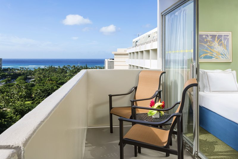 Ambassador Hotel Waikiki - AMBSuite Balcony <br/>Image from Leonardo