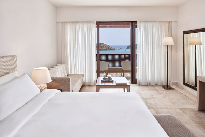 Blue Palace; a Luxury Collection Hotel-King Superior Bungalow Sea View Guest Room<br/>Image from Leonardo