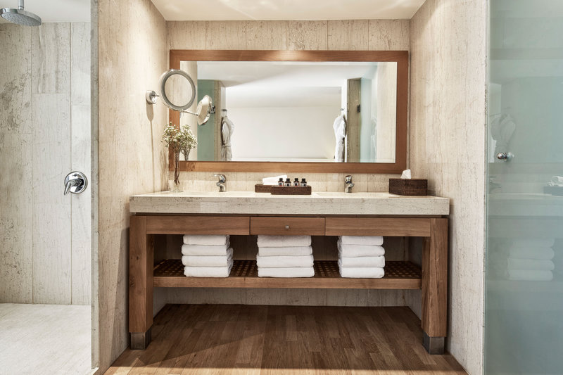 Blue Palace; a Luxury Collection Hotel-Two-Bedroom Guest Bathroom<br/>Image from Leonardo