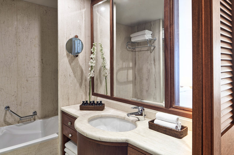 Blue Palace; a Luxury Collection Hotel-Superior Bungalow Guest Bathroom<br/>Image from Leonardo