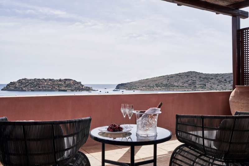 Blue Palace; a Luxury Collection Hotel-The Grand Villa Terrace & View<br/>Image from Leonardo