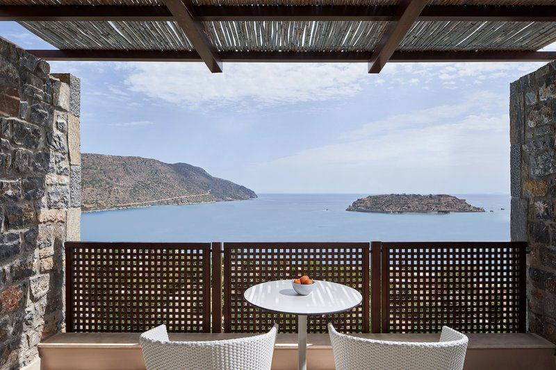 Blue Palace; a Luxury Collection Hotel-Mediterranean Maisonette Suite - Balcony<br/>Image from Leonardo