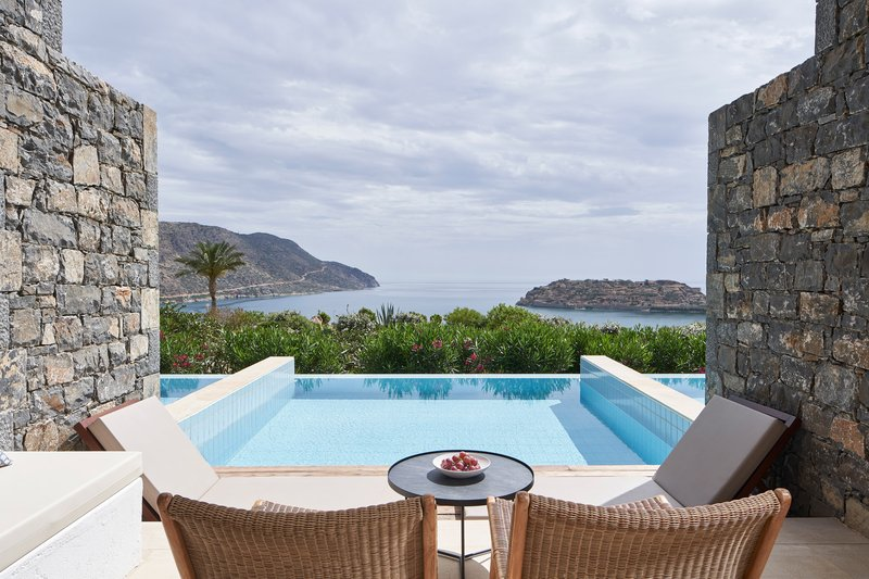 Blue Palace; a Luxury Collection Hotel-Mediterranean Maisonette Suite Terrace & Pool<br/>Image from Leonardo