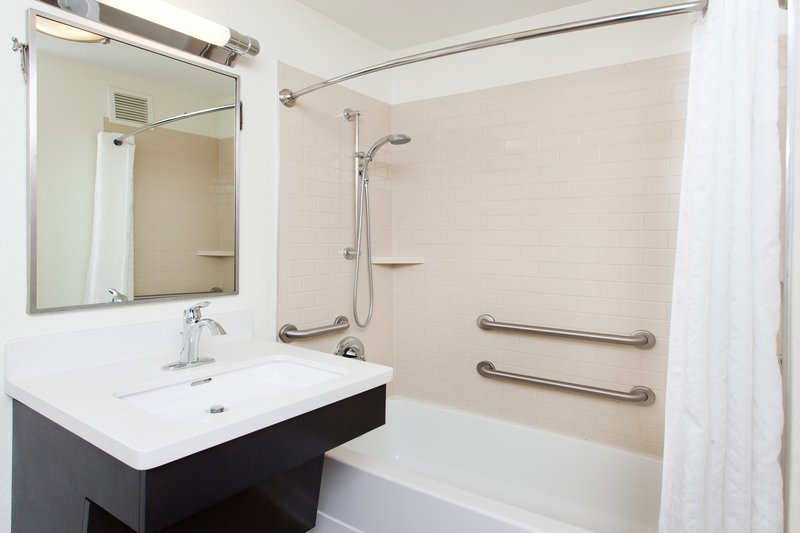 Candlewood Suites Oklahoma City-Guest Bathroom<br/>Image from Leonardo