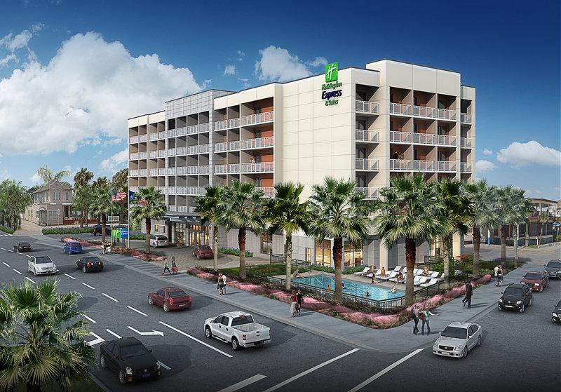 Holiday Inn Express and Suites Galveston Beach-Ocean-front Holiday Inn Express & Suites Galveston Beach<br/>Image from Leonardo