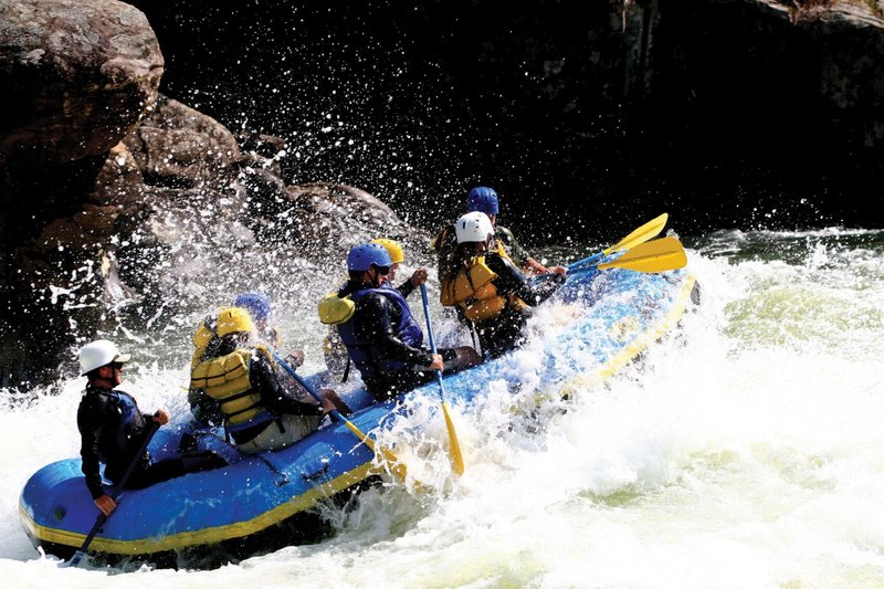 Holiday Inn Express Fraser - Winter Park Area-White water rafting in Colorado's Playground near Fraser, Colorado<br/>Image from Leonardo