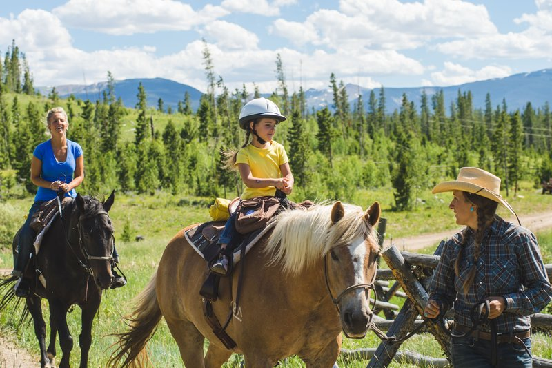 Holiday Inn Express Fraser - Winter Park Area-Come play and ride horses in Colorado's Favorite Playground.<br/>Image from Leonardo