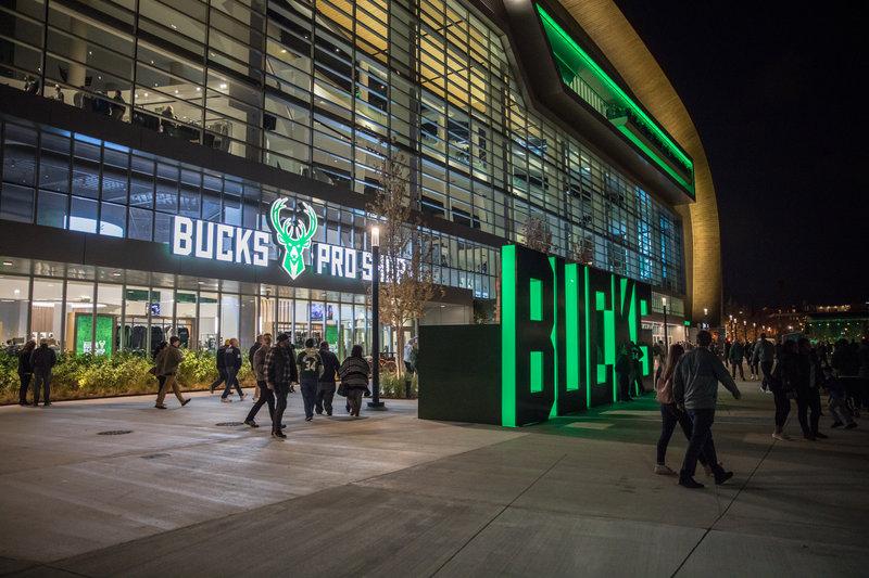 Crowne Plaza Milwaukee Airport-Milwaukee Bucks at Fiserv Forum<br/>Image from Leonardo