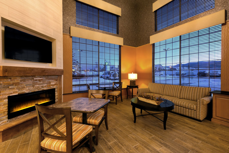 Holiday Inn Express Fraser - Winter Park Area-Nestle into our beautiful Great Room<br/>Image from Leonardo