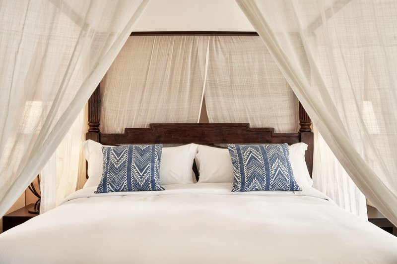 Blue Palace; a Luxury Collection Hotel-King Royal Blue Villa Master Bedroom<br/>Image from Leonardo