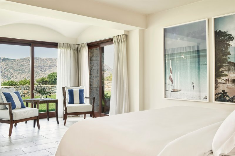 Blue Palace; a Luxury Collection Hotel-King Royal Blue Villa Bedroom<br/>Image from Leonardo