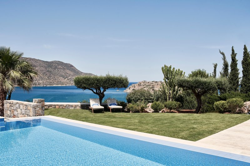 Blue Palace; a Luxury Collection Hotel-Royal Blue Villa Outoor Area & Pool<br/>Image from Leonardo