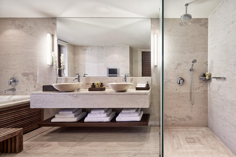 Blue Palace; a Luxury Collection Hotel-Royal Blue Villa Guest Bathroom<br/>Image from Leonardo